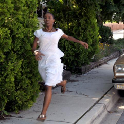 Olivia Running_Greasy Plate